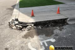 concrete curb repair