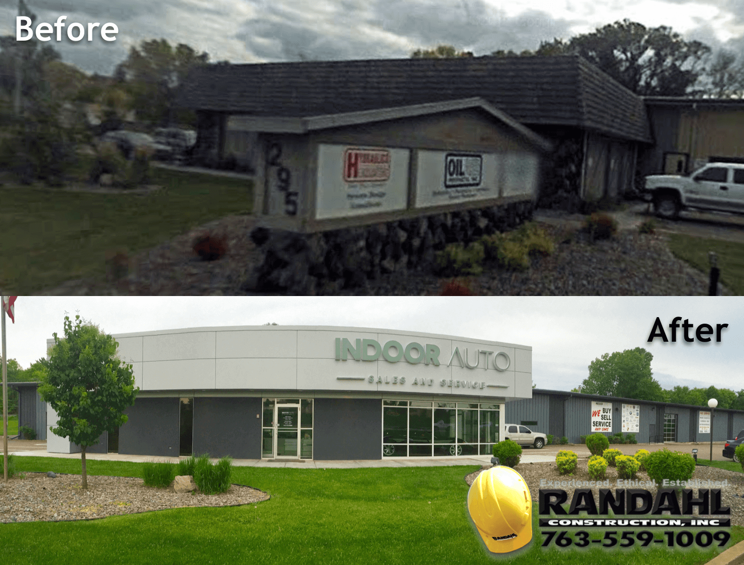 Commercial Remodeling Before After