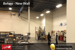 Add a wall to your warehouse