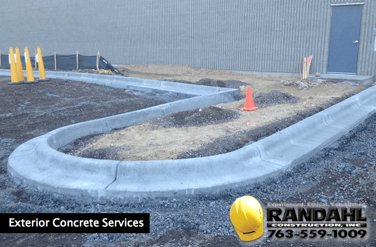 Exterior concrete services MN