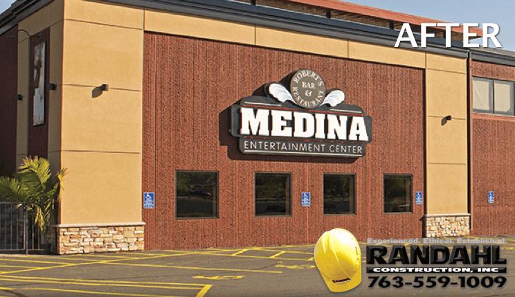 medina entertainment center mn