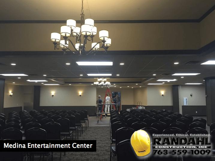 medina entertainment center remodel