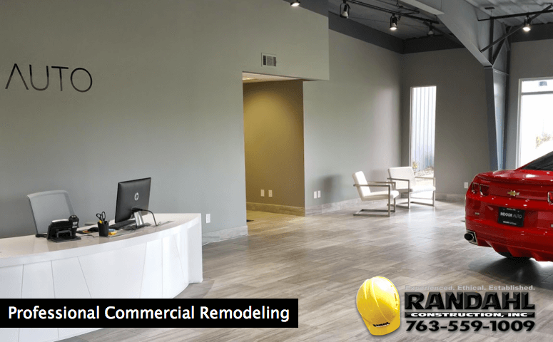 Professional commercial remodeling