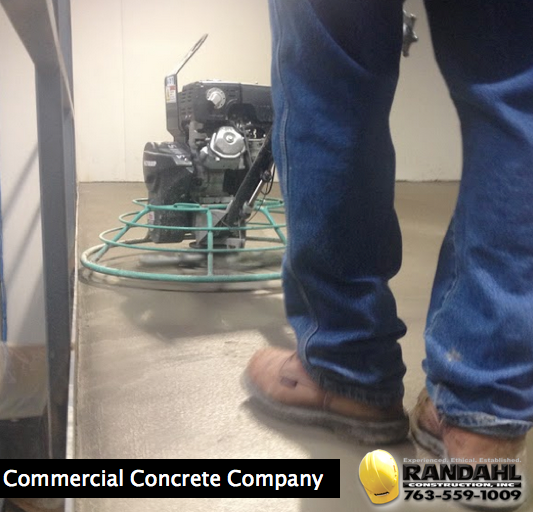 Commercial concrete company in minnesota