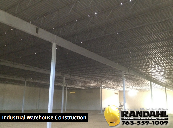 industrial warehouse construction