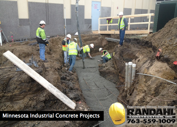 minnesota industrial concrete projects