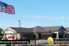 bank construction remodel