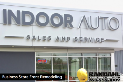 business store front remodeling