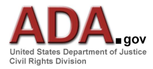 ADA.gov Bathroom Compliance