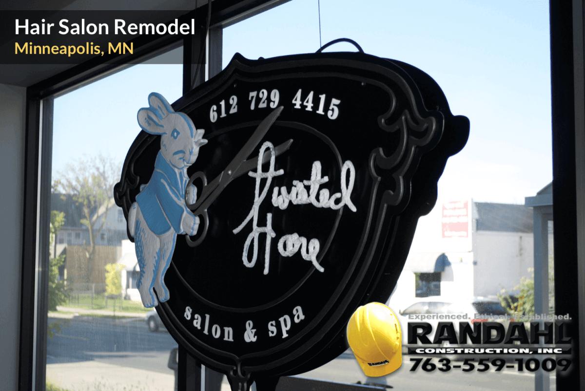 Hair Salon Remodel Minneapolis MN