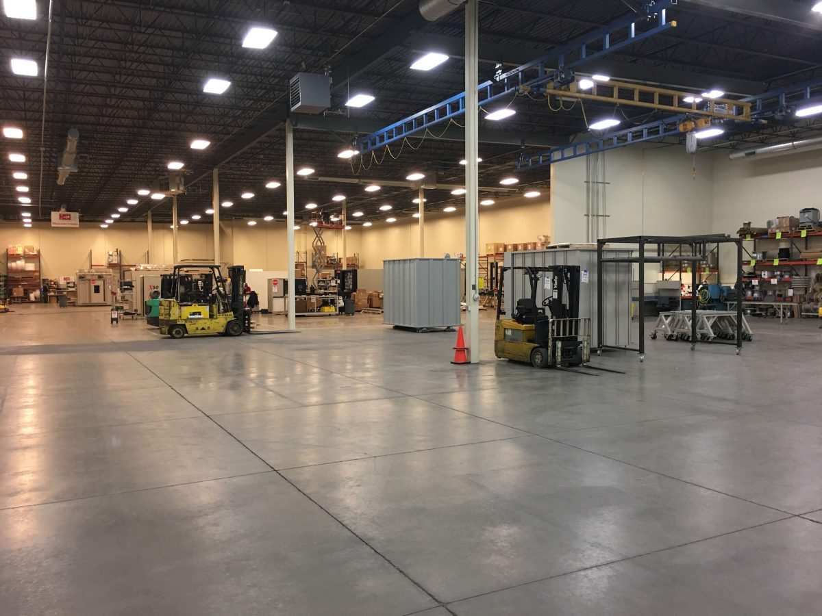 MN facility remodeling