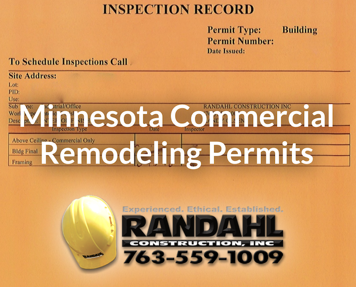 Minnesota Commercial Remodeling Permits