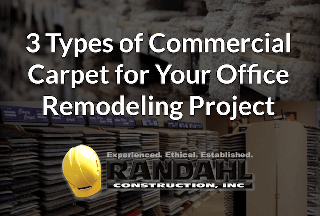 Types of carpet office remodel