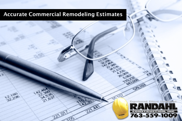 Accurate Commercial Remodeling Estimates