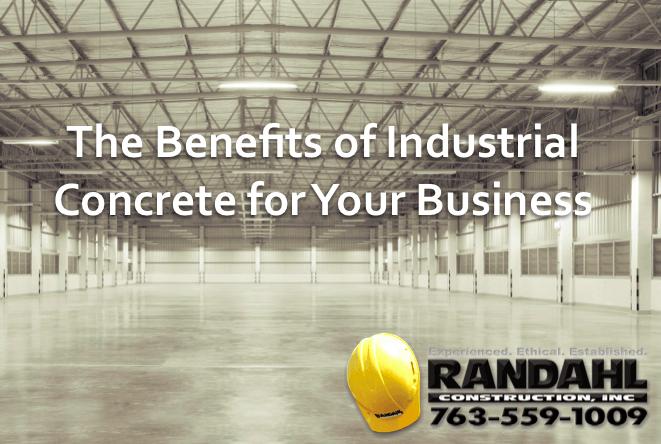 benefits of industrial concrete