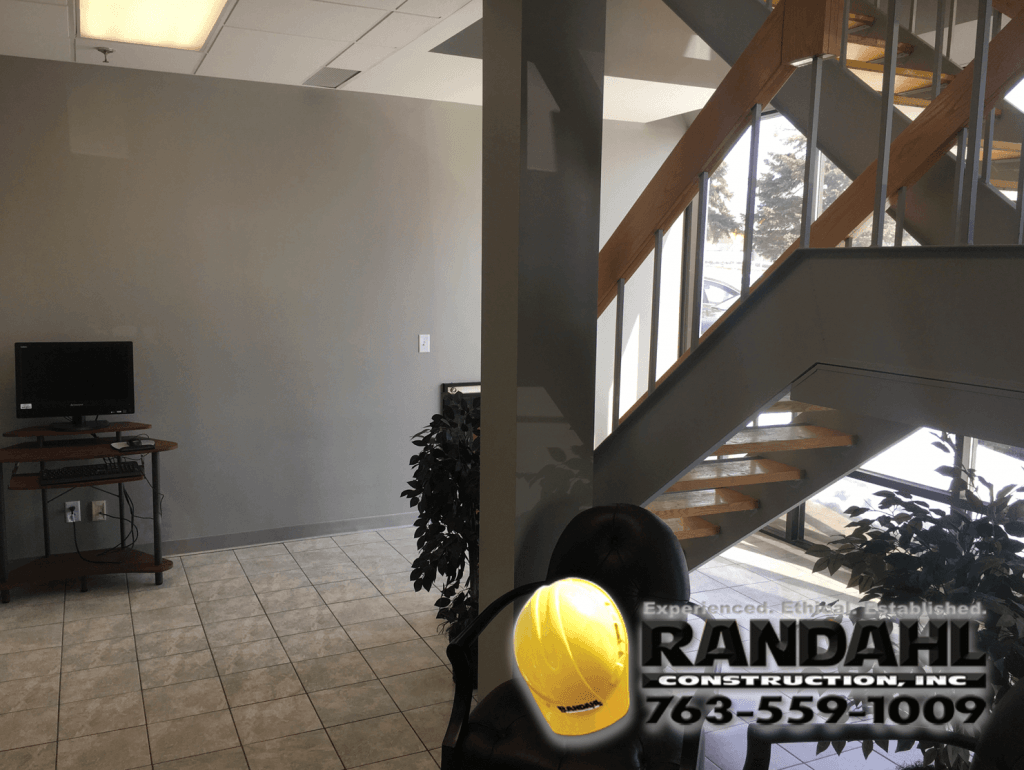 building entrance remodel