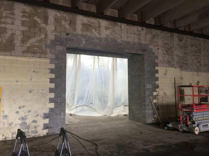 building tunnel masonry