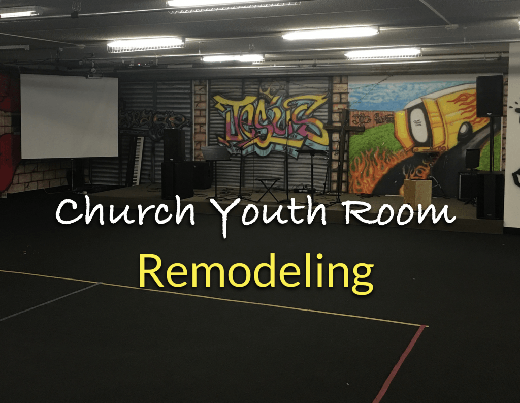 church youth room remodel