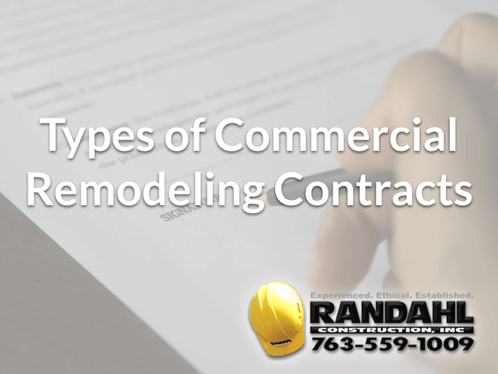 Commercial Remodeling Contracts