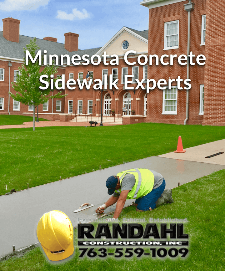 Sidewalk Repair in Minnesota