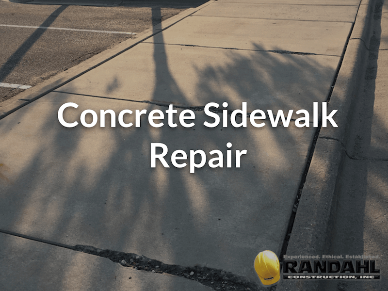 concrete sidewalk repair mn