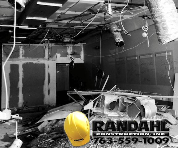 construction demolition MN