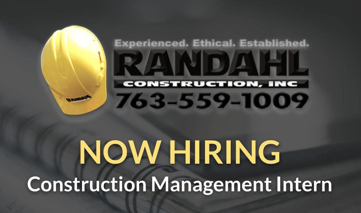 construction management intern