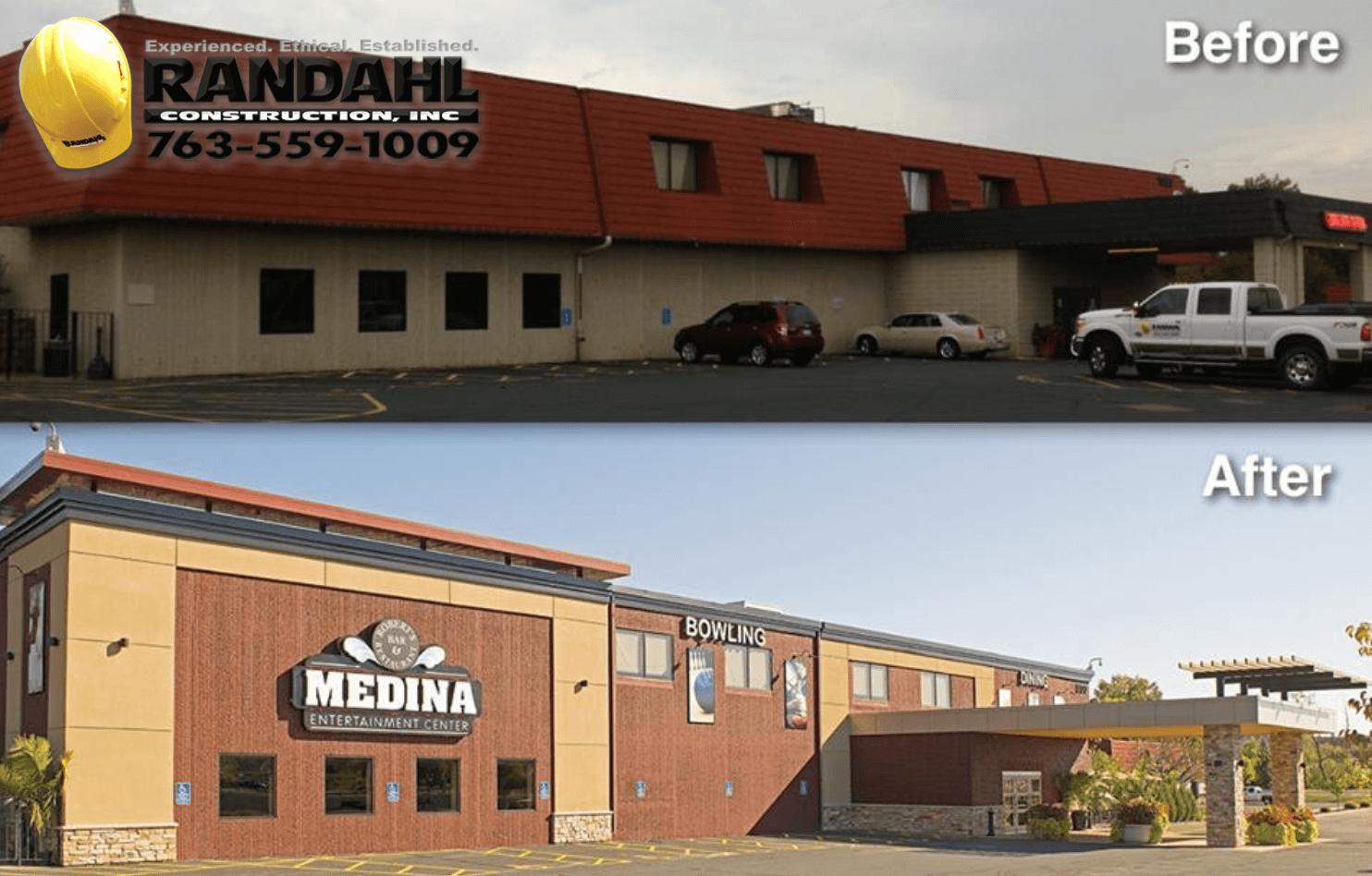 Construction And Remodeling Companies Exterior exterior commercial remodeling - randahl construction, inc. mn
