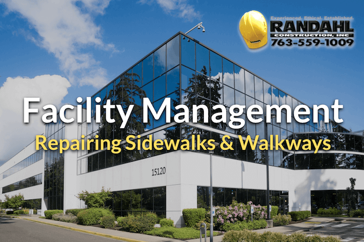 facility management sidewalk repair