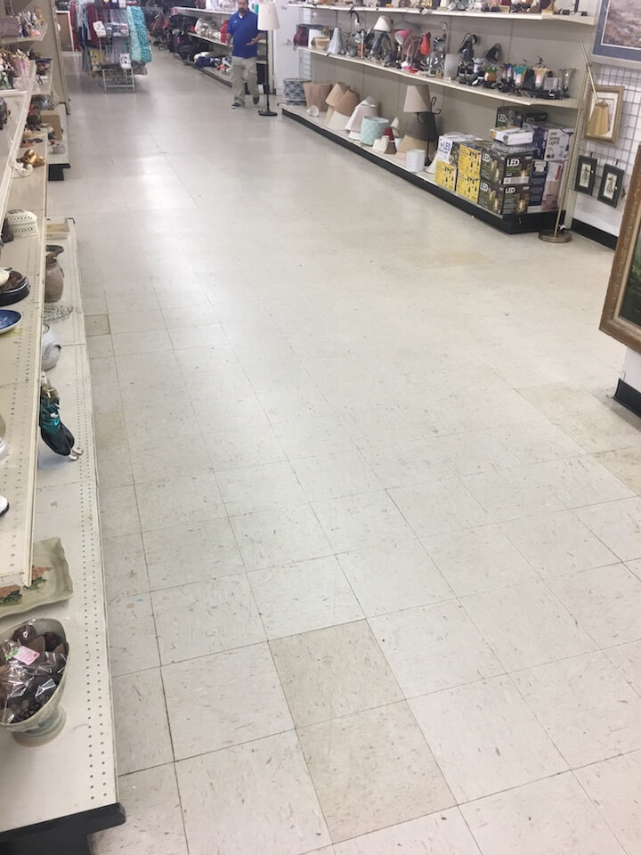 Old VCT Flooring - MN Flooring Contractor