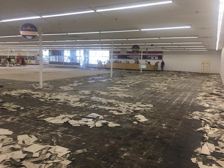 flooring demolition construction