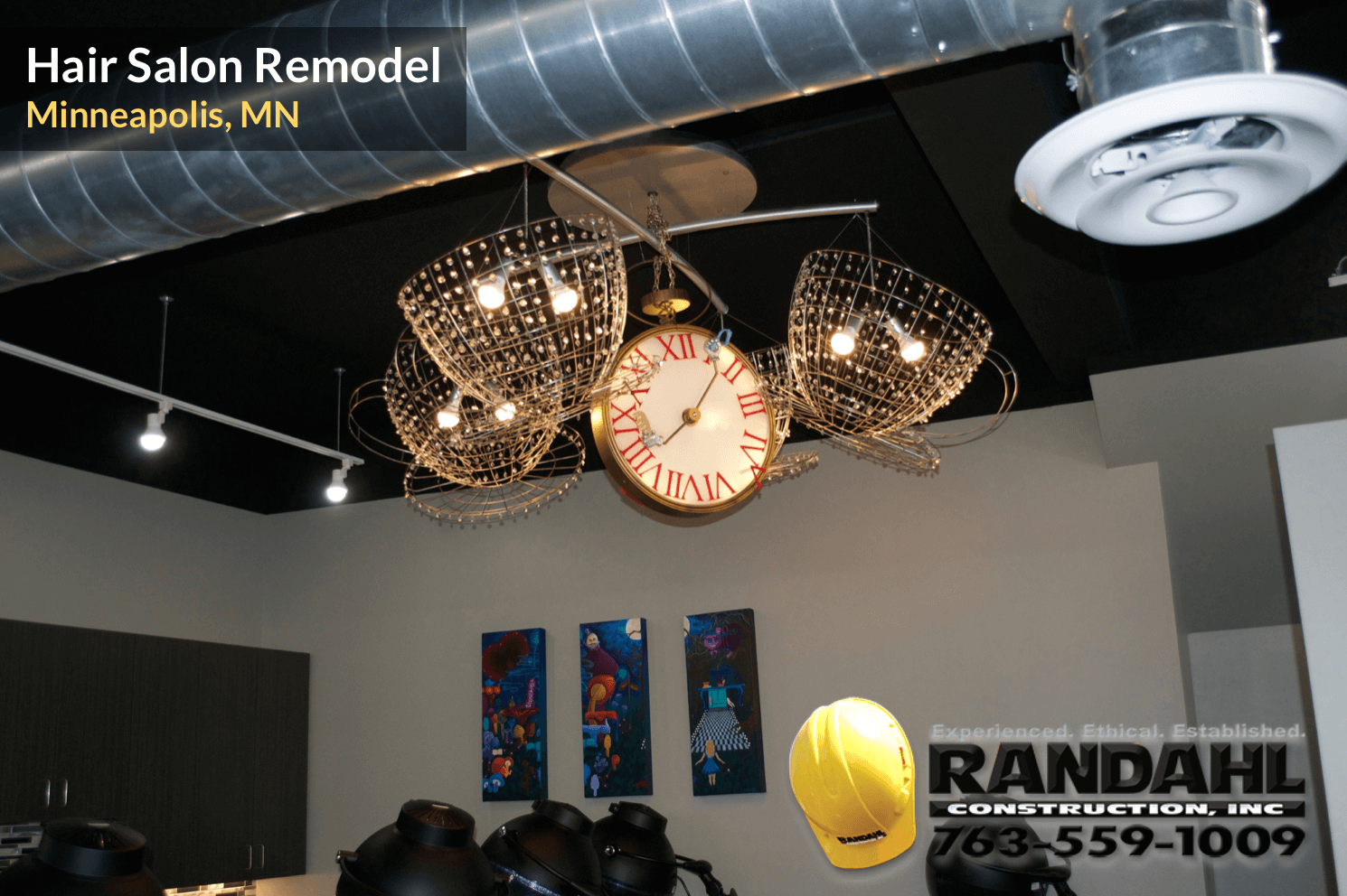 hair salon remodeling