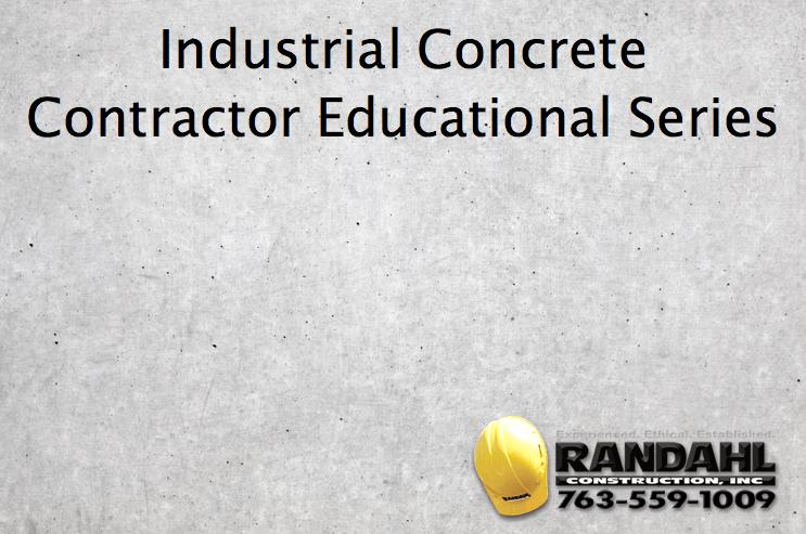 Industrial Concrete Information
