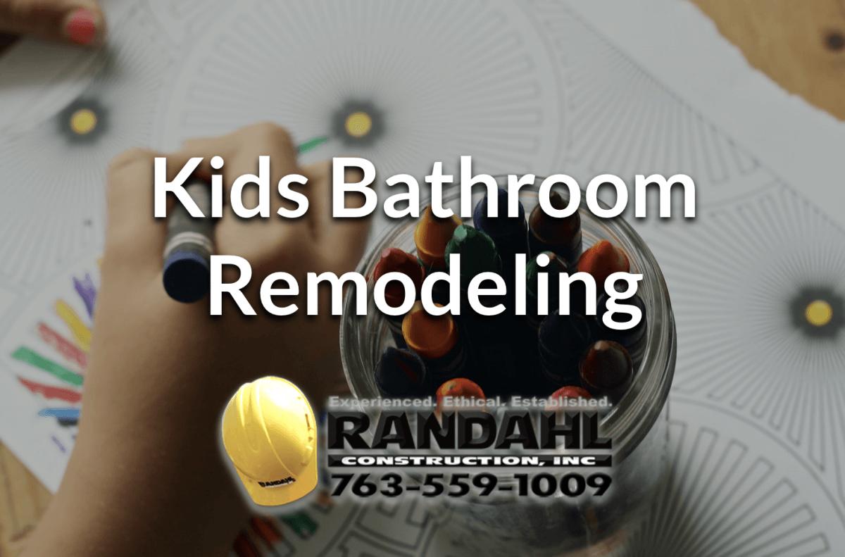 kids bathroom remodeling