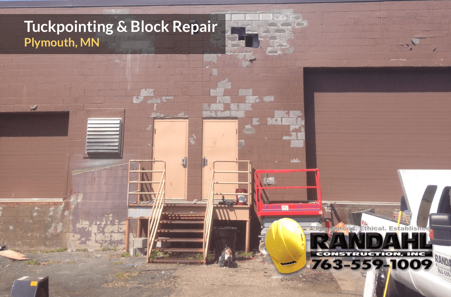 minnesota block masonry repair