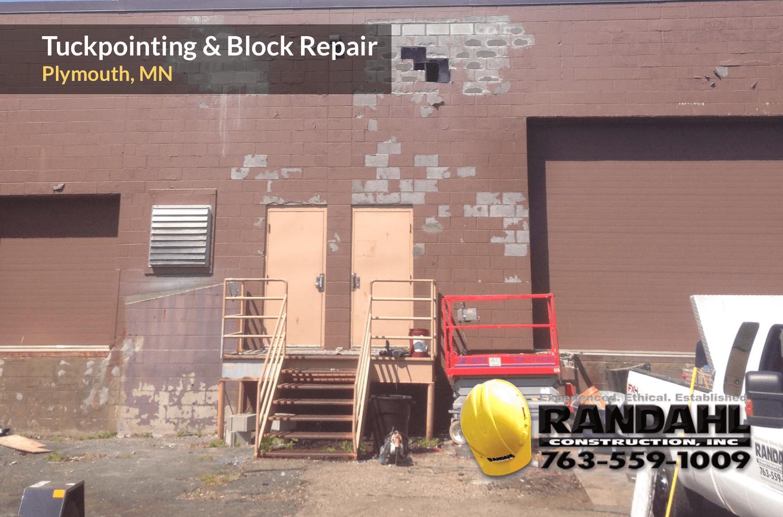 minnesota block masonry repair