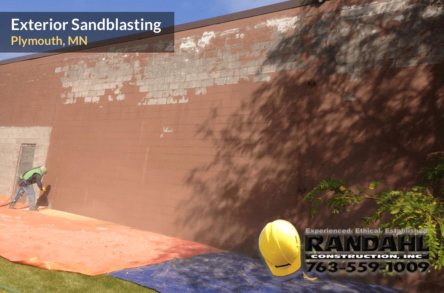 minnesota building sandblasting