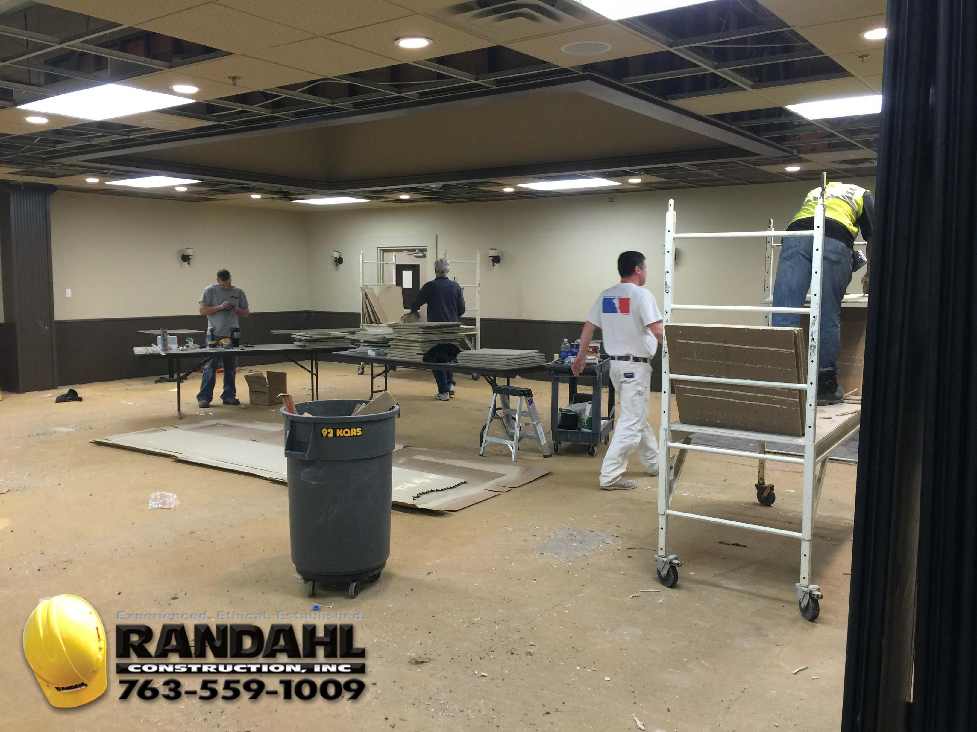 Office Renovation minnesota office renovations and remodeling - randahl construction