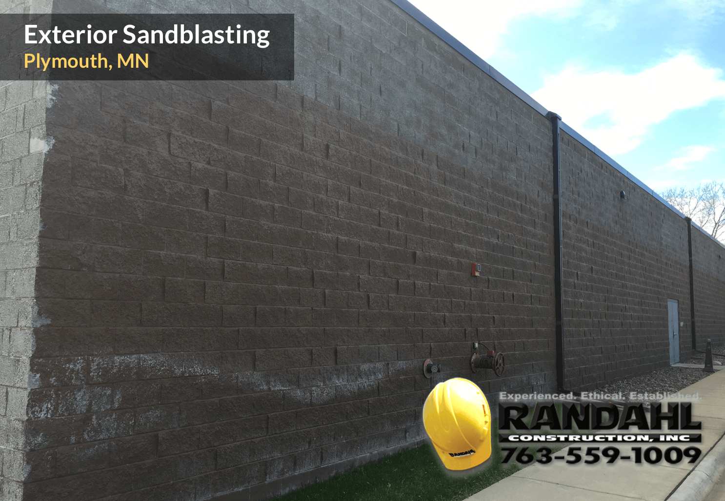mn exterior sandblast contractor