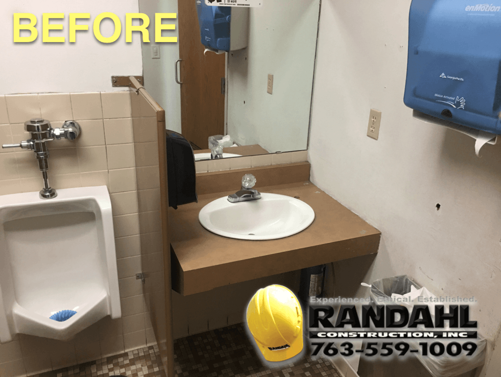 bathroom remodel before