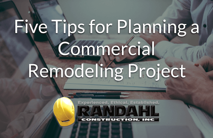 planning a commercial remodeling project