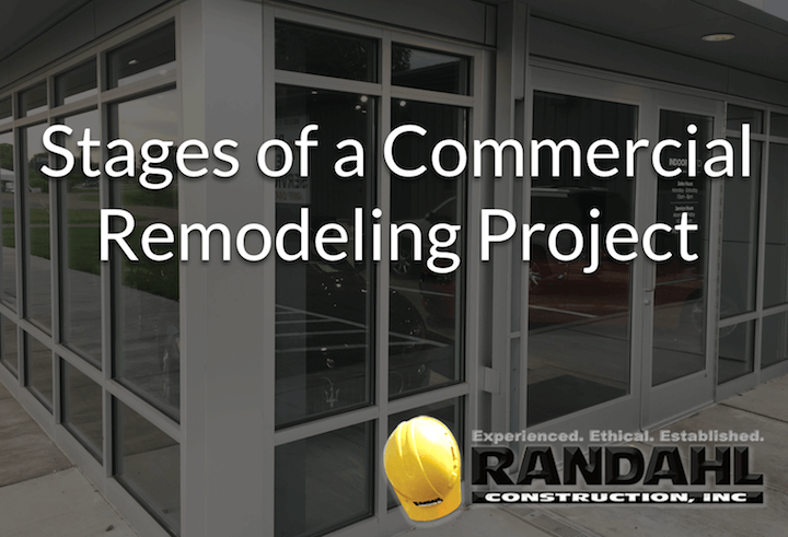 stages of a commercial remodeling project