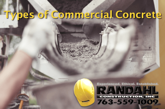 Types of Commercial Concrete