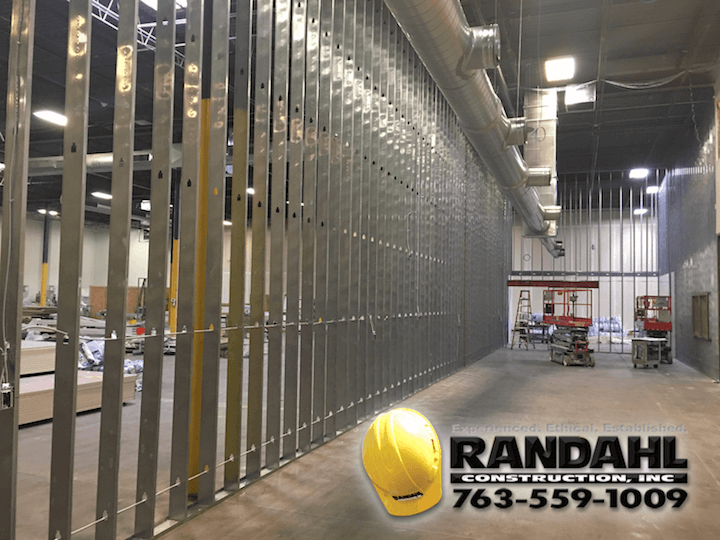 warehouse remodel contractor MN