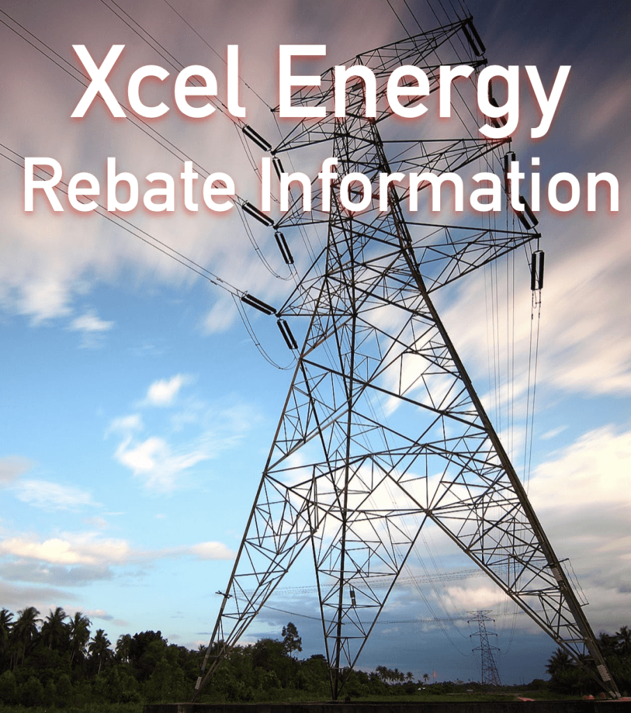 Xcel Energy Rebate Information